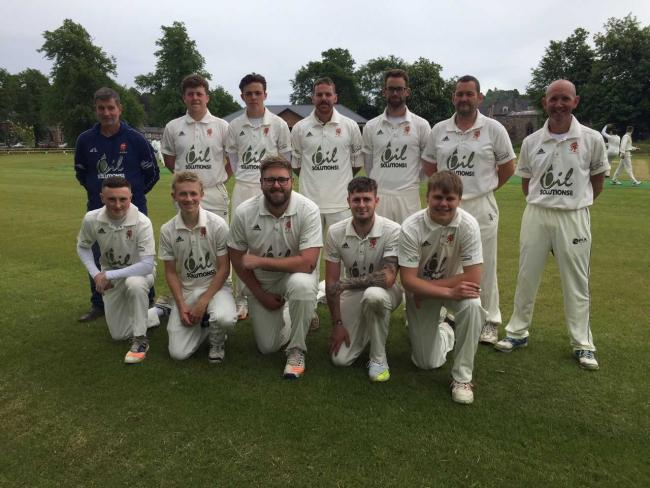 Back again: Appleby Eden CC, returning home after a three-year absence, beat Carlisle 3rds