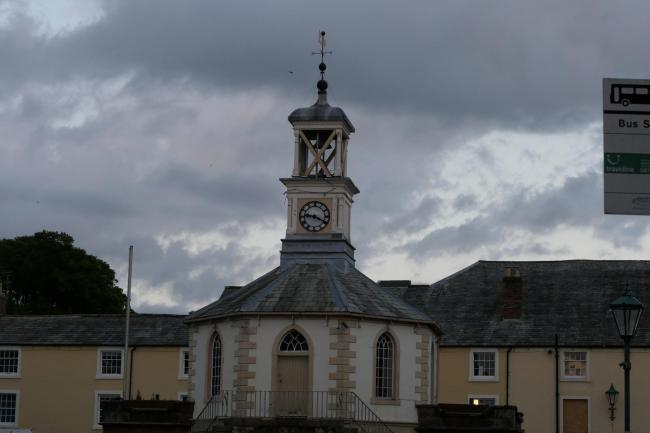 The Moot Hall in Brampton