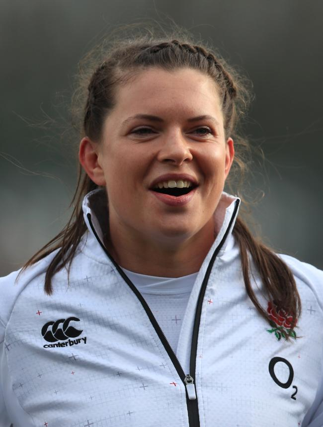 Abbie Scott: Is set to start in England women's historic first match against Barbarians women
