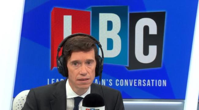 DEBATE: Penrith and the Border MP Rory Stewart appeared on talk radio station LBC on Sunday morning               Picture: LBC/Global radio